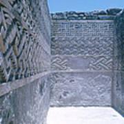 Prehistoric Ruins Of Mitla Poster