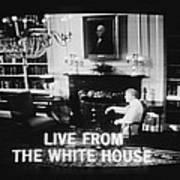 President Jimmy Carter Worn A Folksy Poster