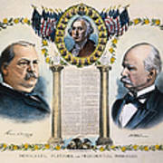 Presidential Campaign, 1892 Poster