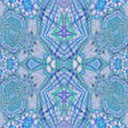 Pretty Blue Poster