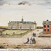 Princeton College, 1764 Poster
