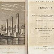 Principles Of Geology (1830) Poster
