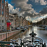 Prinsengracht And Leidsestraat. Amsterdam Poster