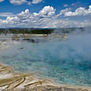 Prismatic Spring Yellowstone Poster
