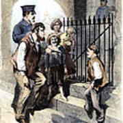 Prison: The Tombs, 1868 Poster