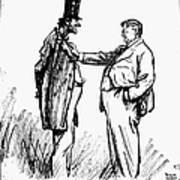 Prohibition Cartoon, 1928 Poster