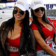 Promotional Assistants At Parque Xtremo Poster