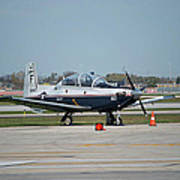 Propeller Plane Chicago Airplanes 10 Poster