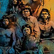 Proud Apache Scouts Poster
