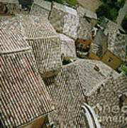 Provence Rooftops Poster