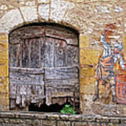 Provence Window And Wall Painting Poster
