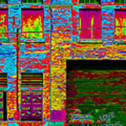 Psychadelic Architecture Poster