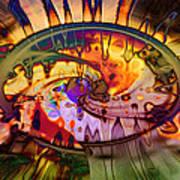 Psychedelic Daze Poster