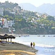 Puerto Vallarta Beach Poster