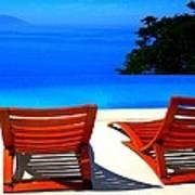Puerto Vallarta Pool Poster