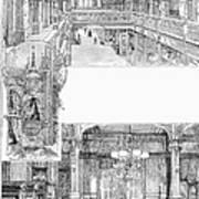Pullman: Arcade, C1885 Poster
