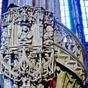 Pulpit St Stephens - Vienna Poster