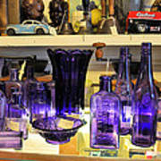 Purple Glass Collection Poster