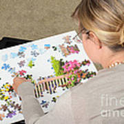Puzzle Therapy Poster