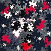 Puzzled Poster