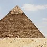 Pyramid Of Khafre Chephren, Giza, Al Poster