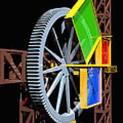 Pythagorean Machine Portrait 1 Poster