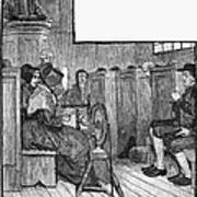 Quaker Meeting Poster by Granger
