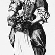 Quaker Woman, 17th Century Poster