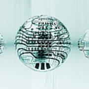 Quantum Computing Poster by Mehau Kulyk