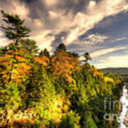 Quechee Gorge In The Fall  Poster