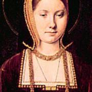 Queen Katherine Of Aragon 1485-1536 Poster