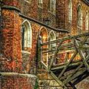Queens' College And Mathematical Bridge Poster