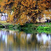 Quiet Autumn Day Poster