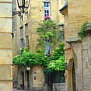 Quiet Street In Sarlat Poster