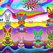 Rabbits Poster
