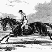 Race Horse, 1857 Poster