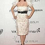 Rachel Bilson Wearing A Chanel Dress Poster by Everett