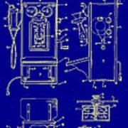 Radio Phone Patent Poster