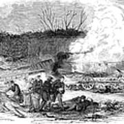 Railroad Accident, 1853 Poster