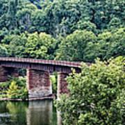 Railroad Bridge At East Falls Philadelphia Poster