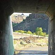 Railroad Tunnel Poster