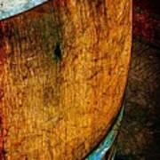 Rain Barrel Poster by Judi Bagwell
