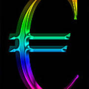 Rainbow Euro Poster