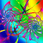 Rainbow Eyes Poster