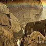 Rainbow Over Lower Bridal Veil Poster