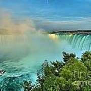 Rainbow Over Niagara Poster