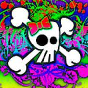 Rainbow Skull 1 Of 6 Poster