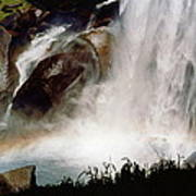 Rainbow Under Vernal Falls 2 Poster
