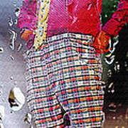 Rainy Day Clown 2 Poster by Steve Ohlsen