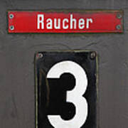 Raucher Poster by Falko Follert
